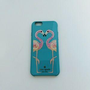 Kate Spade iPhone 6 Flamingo Case